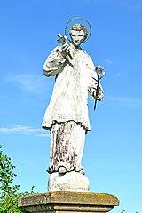 Figurenbildstock hl. Aloisius
