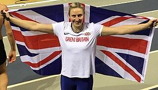 Holly Bradshaw British pole vaulter