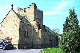 Denby Dale village in the United Kingdom