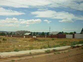 Fundamentalist Church of Jesus Christ of Latter-Day Saints - The home of former FLDS leader Warren Jeffs in Colorado City