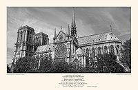 Hommage à Notre-Dame de Paris Victor Hugo et Viollet-le-Duc par Alain HAYS.jpg