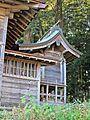 Honden of Sakamine-jinja shrine in Kashima ward.JPG