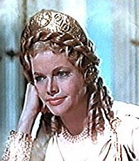 "Honor Blackman i ""Jason and the Argonauts"""