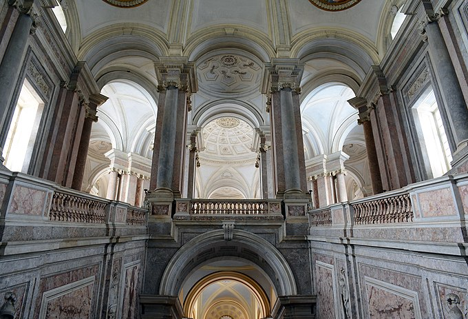 Honour Grand Staircase of the Palace of Caserta