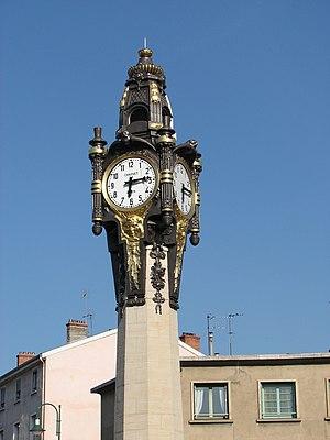 Tassin-la-Demi-Lune - Tassin la Demi-Lune's clock