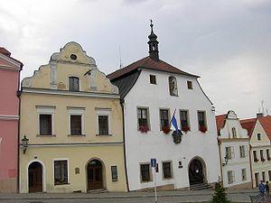 Horšovský Týn - Town hall