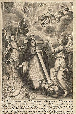 Catherine of St. Augustine - La vie de la mere Catherine de Saint Augustin by Paul Ragueneau, 1671
