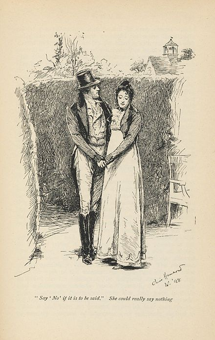 Emma novel wikiwand 1898 illustration of mr knightley and emma woodhouse volume iii chapter xiii ccuart Gallery