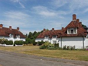 Fulmer - Image: Houses at Allhusen Gardens, Fulmer geograph.org.uk 20813