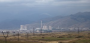Energy in Armenia - The Hrazdan Thermal Power Plant in central Armenia