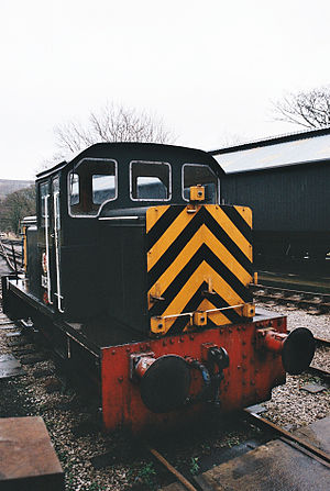 British Rail Class D2/12 - D2511, preserved at the Keighley and Worth Valley Railway