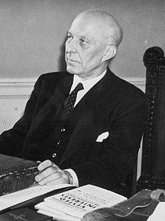 Hugh Dalton Welsh politician and British MP