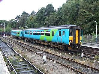British Rail Class 156 - Image: Hugh llewelyn 156 473 (6312318745)
