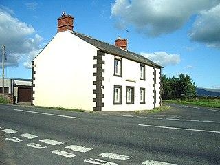 Hunsonby village in the United Kingdom