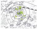 Hurricane Thirteen surface analysis 1944.jpg