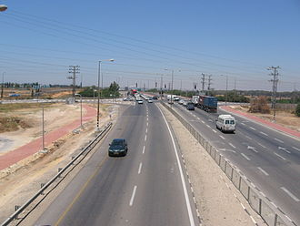 Highway 4 (Israel) - Abba Hillel Silver Junction
