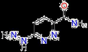 Hydracarbazine - Image: Hydracarbazine structure