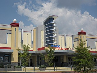 West Ashley - IMAX Stadium 16 Cinemas at Citadel Mall.