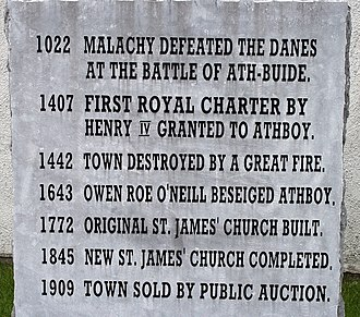 Athboy - History written in stone