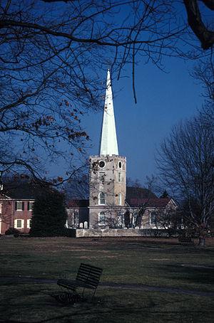 Immanuel Episcopal Church on the Green - Immanuel Episcopal Church, 1970