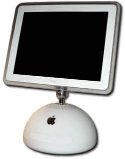 "The iMac G4 with a 15"" screen"