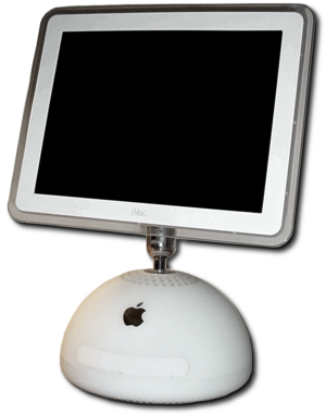 "IMac G4 - The iMac G4 with a 15"" screen"
