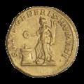 INC-1580-r Ауреус Траян ок. 111 г. (реверс).png