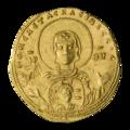 INC-1828-a Номисма стамена Зоя и Феодора ок. 1042 г. (аверс).png