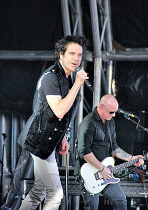 Train (band) - Pat Monahan and Jimmy Stafford of Train performing in January 2011