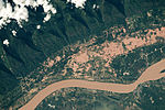 ISS-44 Mekong River on the border between Thailand and Laos.jpg