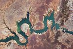 ISS-48 Itaparica Reservoir on the Sao Francisco River, eastern Brazil.jpg