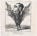 I am a bird, see my wings. I am a bat, long live the rats (La Fontaine), from 'News of the day,' published in Le Charivari, March 24, 1869 MET DP877768.jpg