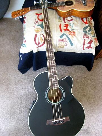 Ukele Chord Chart: Ibanez acoustic bass guitar 6 Cavaquinho (8-string tenor ,Chart