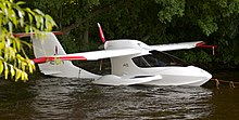 ICON A5 Light sport sitting in the water