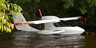 ICON A5 amphibious light-sport aircraft developed by ICON Aircraft in the United States