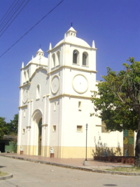 Iglesia chiriguana Cesar Colombia by Wladimir Valdes Avila.png