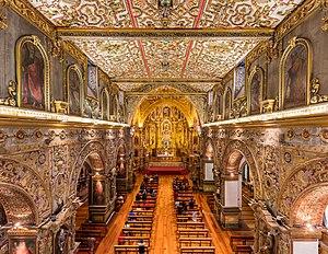 Iglesia de San Francisco, Quito, Ecuador, 2015-07-22, DD 171-173 HDR.JPG