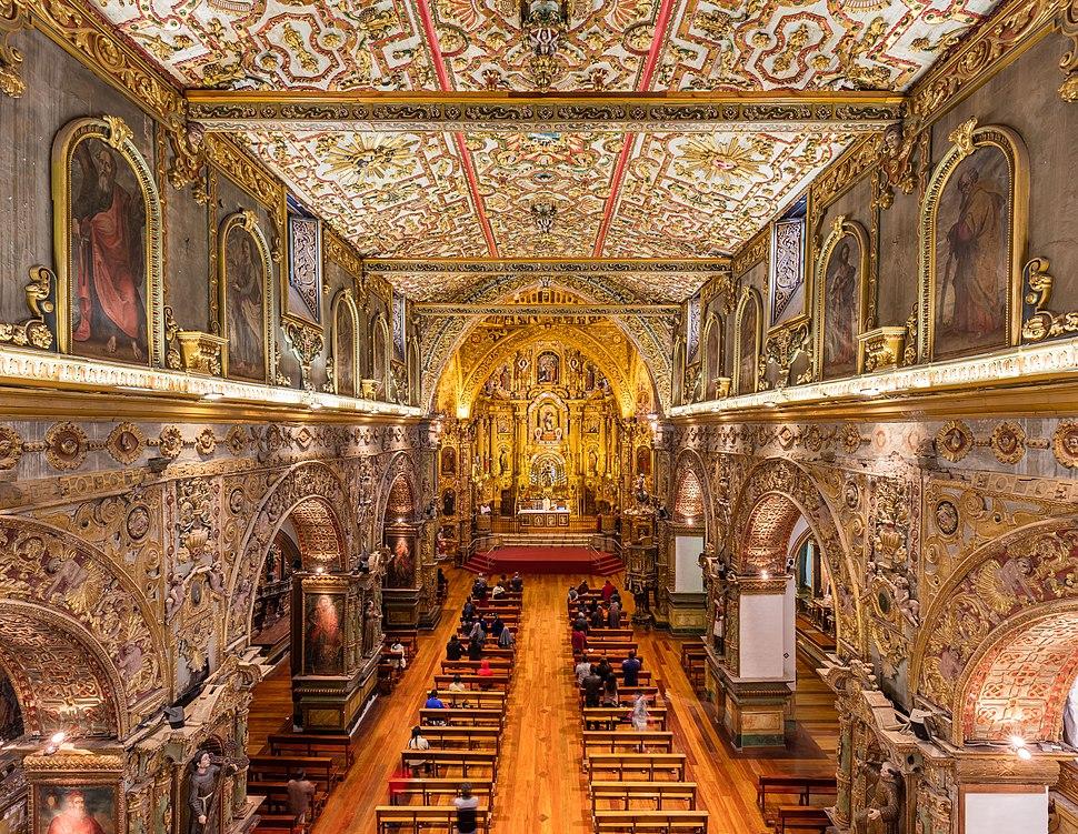 Iglesia de San Francisco, Quito, Ecuador, 2015-07-22, DD 171-173 HDR