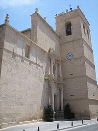 Iglesia parroquial del Salvador, en Muchamiel