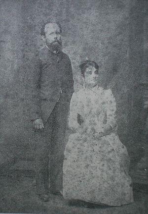 Ignacio Andrade - Image: Ignacio Andrade and Isabel Sosa Saa