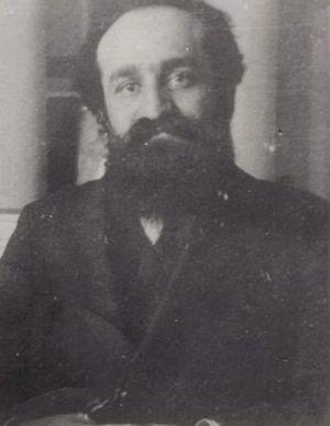 Ilie Moscovici - Moscovici, ca. 1920