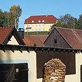 Im Haus auf dem Berg waltet die Verwaltungsgemeinschaft Steinfeld. - panoramio.jpg