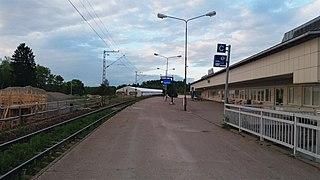 Imatra railway station Railway station in Imatra, Finland