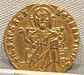 Impero romano d'oriente, basilio I e costantino, emissione aurea, 868-870.JPG