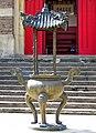 Incense burner, True Buddha Temple, Willesden Green - geograph.org.uk - 2053464.jpg