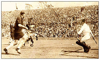Field hockey at the 1932 Summer Olympics - Match of India against the United States
