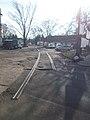 Industrial railway remains, Fehérvári út, 2018 Albertfalva.jpg