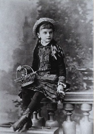 Inessa Armand - Inessa Armand as a child, 1882