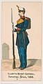 Infantry, Spain, 1853, from the Military Series (N224) issued by Kinney Tobacco Company to promote Sweet Caporal Cigarettes MET DPB874337.jpg