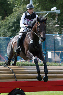German eventing rider